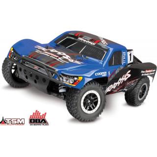 Traxxas Slash 1:10 VXL 4WD OBA TQi RTR kék