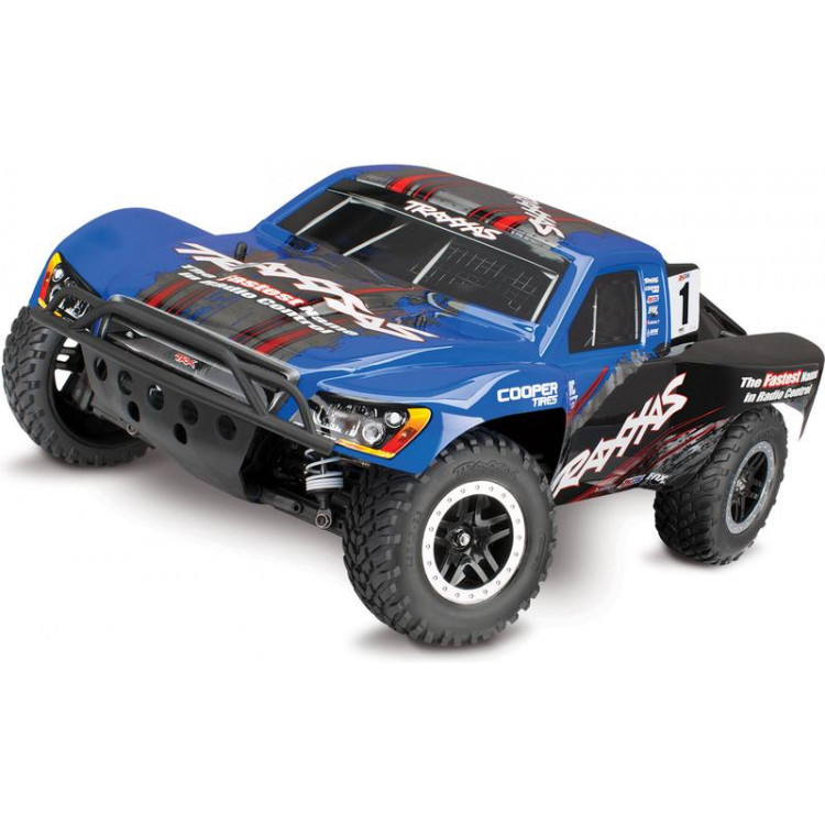 Traxxas Slash 1:10 VXL 4WD TQi RTR modrý