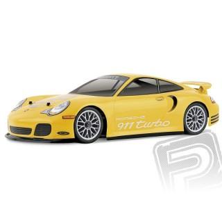 Festetlen/átlátszó karosszéria Porsche 911 Turbo (190 mm)