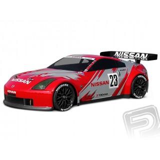 Áttetsző/festetlen karosszéria Nissan 350Z Nismo GT (190 mm)