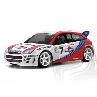 Áttetsző/festetlen karosszéria Ford Focus WRC (200 mm)