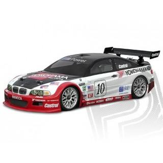Festetlen/átlátszó karosszéria BMW M3 GT (200 mm)