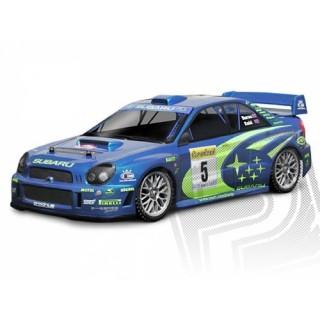 Festetlen/átlátszó karosszéria Subaru Impreza WRC 2001 (200 mm)