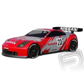 Áttetsző/festetlen karosszéria Nissan 350Z Nismo GT RACE (200 mm)