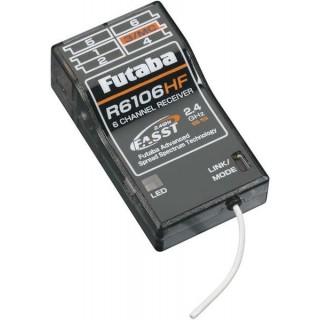 Futaba 6k R6106HF FASST HS vevő 2.4GHz