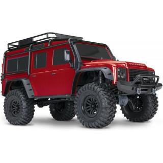 Traxxas TRX-4 Land Rover Defender 1:10 TQi RTR piros