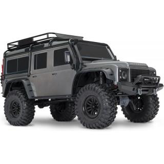 Traxxas TRX-4 Land Rover Defender 1:10 TQi RTR ezüstszürke