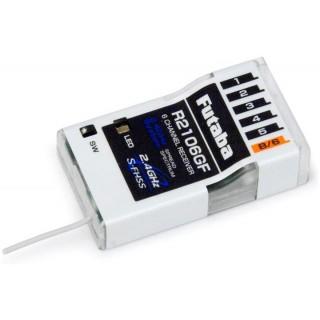 Futaba 6k R2106GF S-FHSS/FHSS vevő 2.4GHz