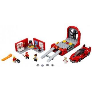 LEGO Speed Champions - Ferrari FXX K a vývojové centrum