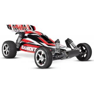 Traxxas Bandit 1:10 RTR - new piros