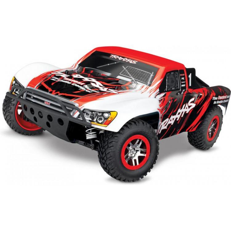 Traxxas Slash 1:10 VXL 4WD TQi RTR piros