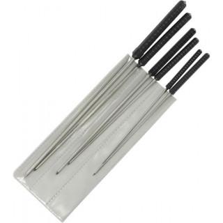 Modelcraft precíz kerek lyukasztó 1.2-3.0mm (6 darabos szett)
