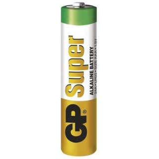 GP SUPER alkalická baterie LR03 (AAA) (1ks)