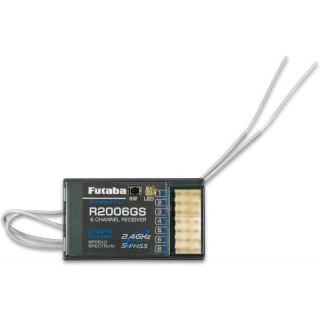 Futaba 6k R2006GS S-FHSS/FHSS vevő 2.4GHz