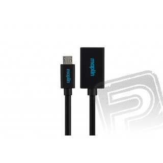 Micro USB to On-The-Go Cable (Black)