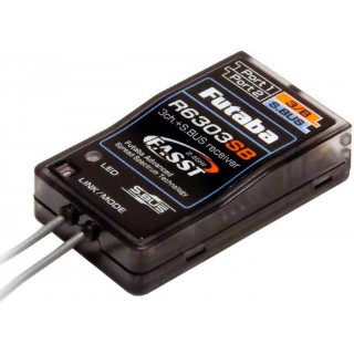 Futaba 3/18k R6303SB FASST S.BUS vevő 2.4GHz