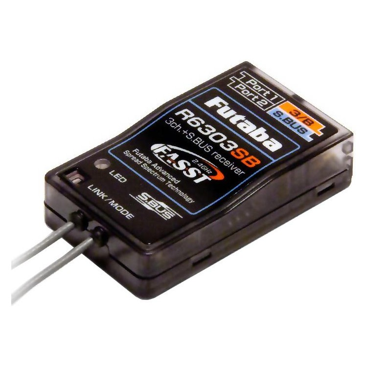 Futaba přijímač 3/18k R6303SB 2.4GHz FASST S.BUS