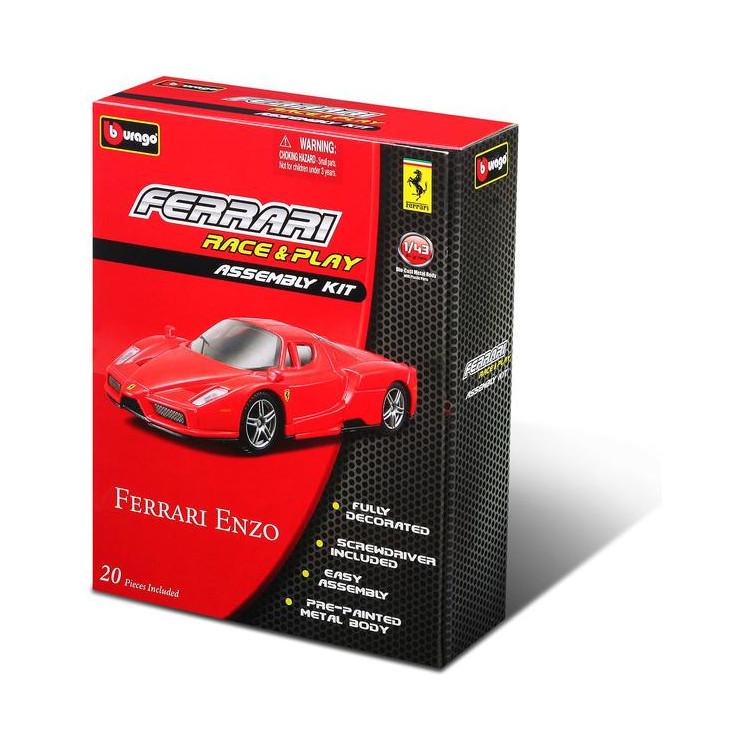 Bburago Kit auta Ferrari 1:43 (sada 12ks)