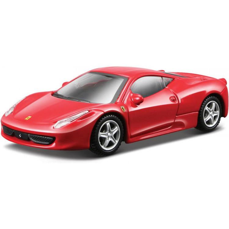 Bburago Kit Ferrari 458 Italia 1:43 červená