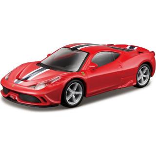 Bburago Kit Ferrari 458 Speciale 1:43 piros