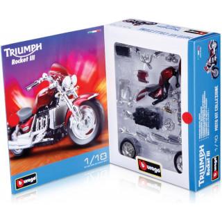 Bburago Kit motorkerékpár 1:18 (készlet 24db)