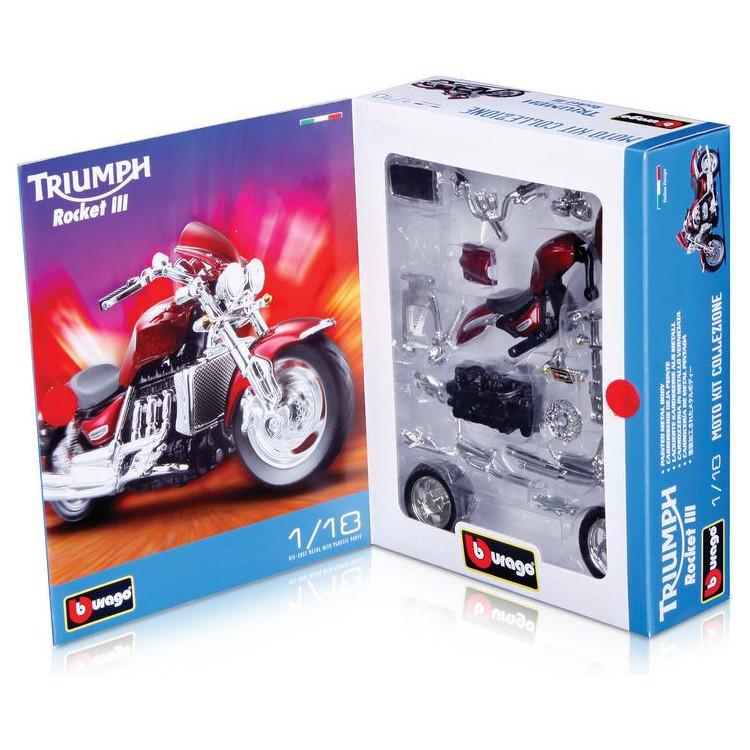 Bburago Kit motocykly 1:18 (sada 24ks)