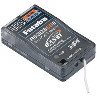 Futaba 3/18k R6303SBE FASST S.BUS vevő 2.4GHz