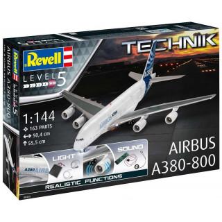 Plastic ModelKit TECHNIK letadlo 00453 - Airbus A380-800 (1:144)