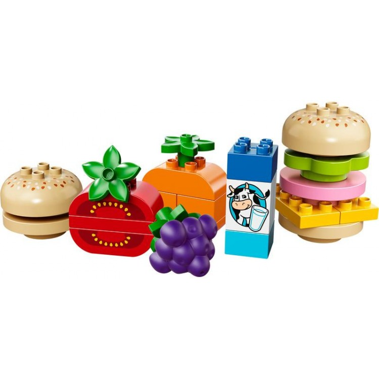 LEGO DUPLO Kostičky - Tvořivý piknik