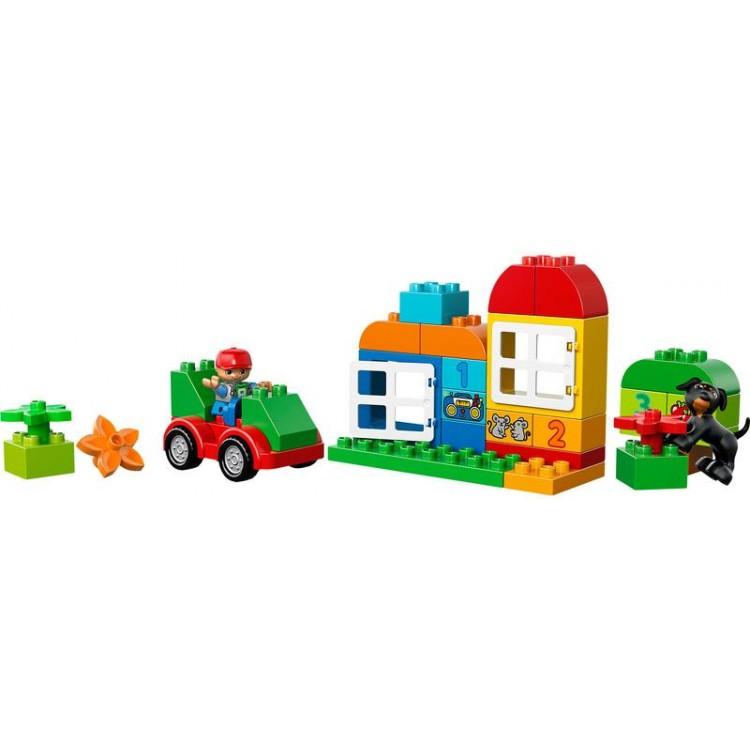 LEGO DUPLO Kostičky -Box plný zábavy