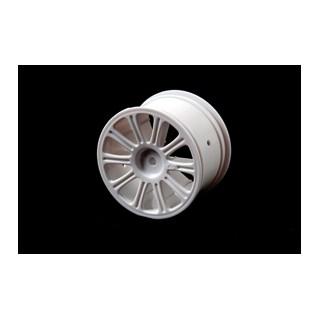 Rulux - 1/10 RC10 B4 zadní disky - bílé