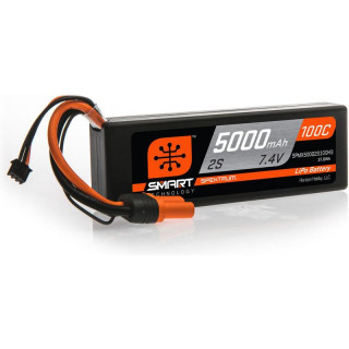 Spektrum Smart LiPo Car 7.4V 5000mAh 100C IC3