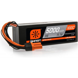 Spektrum Smart LiPo Car 11.1V 5000mAh 100C IC3