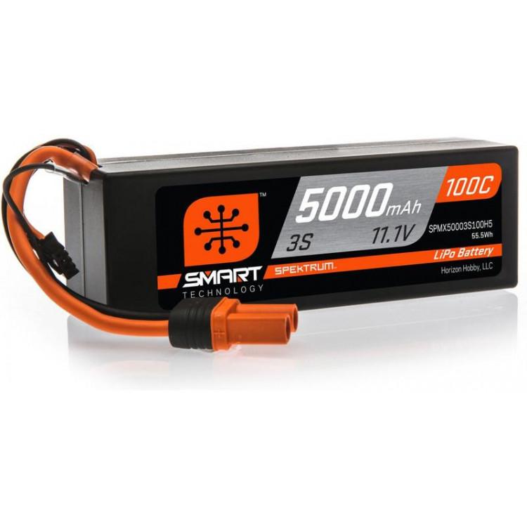 Spektrum Smart LiPo Car 11.1V 5000mAh 100C IC5