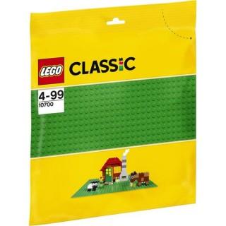LEGO Classic Elemek és egyebek - Zöld építőlap LEGO® 10700