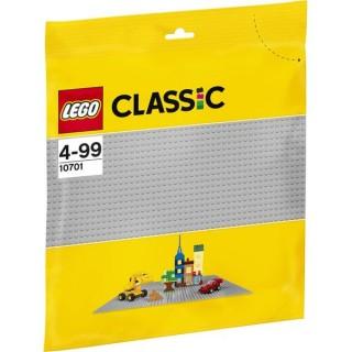 LEGO Classic Elemek és egyebek - Szürke építőlap LEGO® 10701