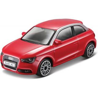 Bburago Audi A1 1:43 červená