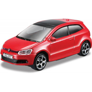 Bburago Volkswagen Polo GTI Mark5 1:43 piros