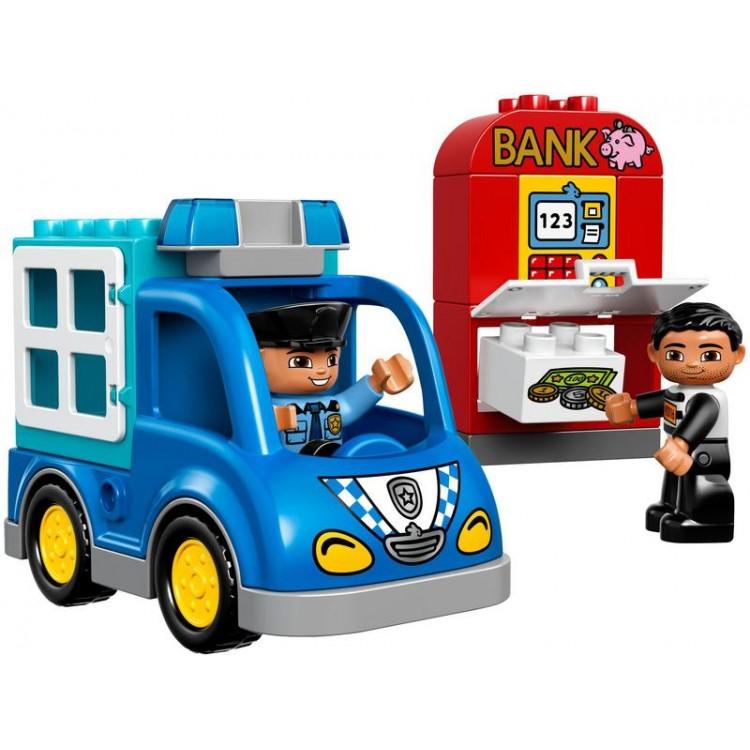 LEGO DUPLO Town - Policejní hlídka