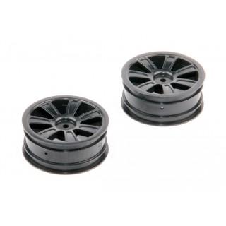 Eső felni, fekete, 2db - S10 Twister - 1/10 2WD Buggy