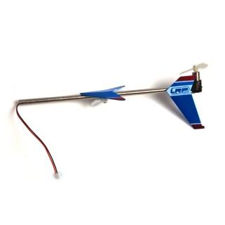 LRP DiscoHornet 2,4GHz - zadní nosník/roura včetně motoru a rotoru