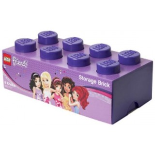 LEGO® Seasonal Tároló doboz 4x2 lila (Friends) LEGO® 40041746