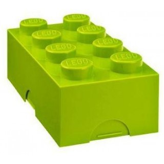 LEGO® Seasonal Uzsonnás doboz 4x2 világos zöld 100x200x75mm LEGO® 40231220