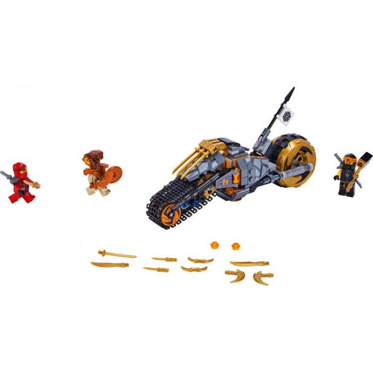 LEGO Ninjago - Coleova terénní motorka
