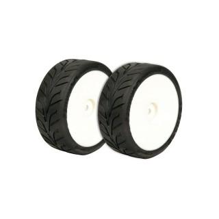 VTEC vízi Dunlop D20 1/10 tömlő nélküli gumiabroncs, ragasztott, 2db