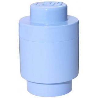 LEGO® Tároló doboz kerek o123x183mm - világod kék LEGO® 40301736