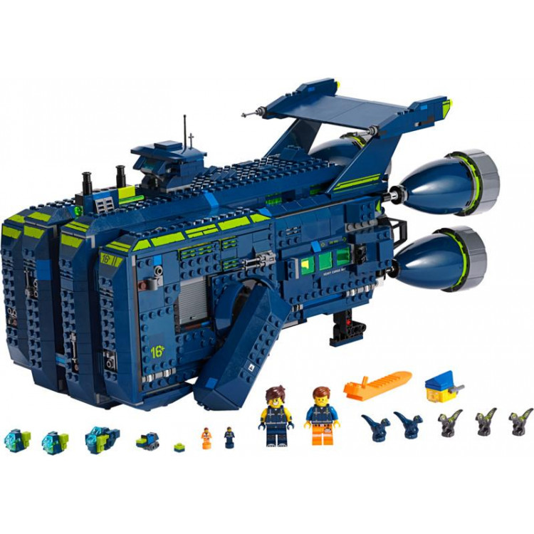 LEGO Movie - Rexcelsior