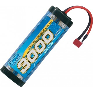 Power Pack 3000 - 7.2V - 6 cellás NiMH Stickpack - US