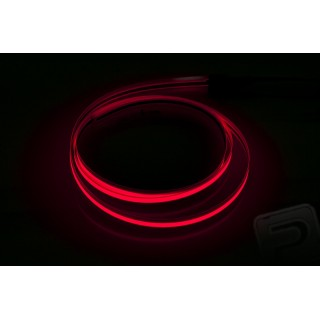 Svíticí páska 60 cm (šíře 6 mm) červená