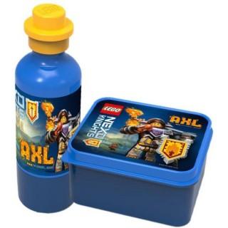 LEGO NEXO Knights svačinový set - modrý